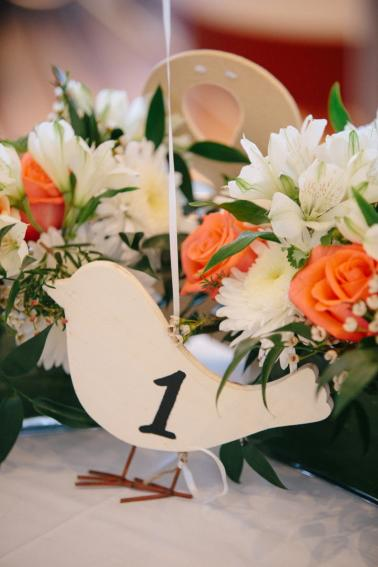A Garden Inspired Brunch Wedding  via TheELD.com