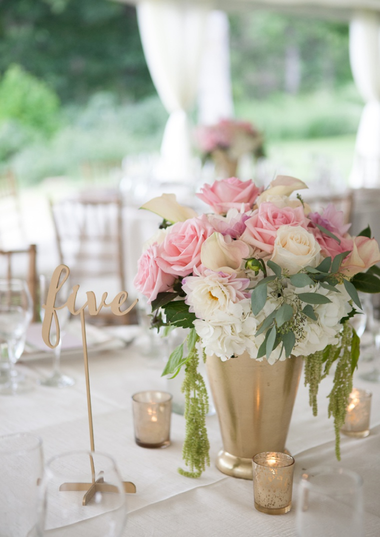 An Elegant Blush And Gold Wedding Every Last Detail