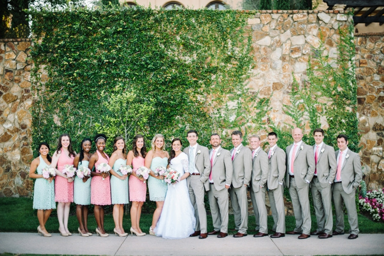 An Eclectic Mint and Pink Garden Wedding | Every Last Detail