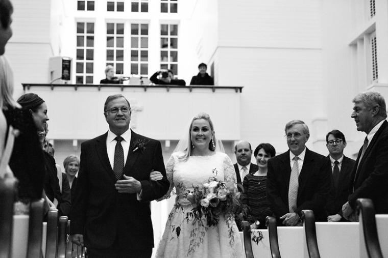 Natural Chic Navy and Orange Wedding via TheELD.com