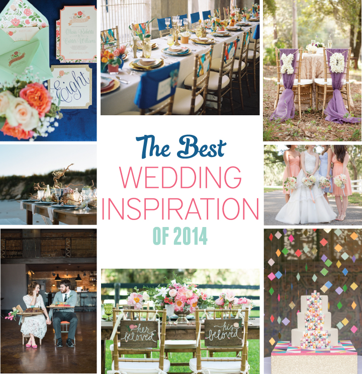 The Best Wedding Inspiration of 2014 via TheELD.com