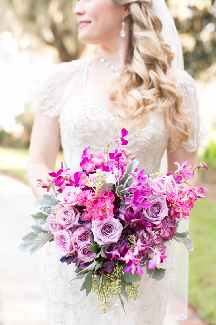 A Chic Plum & Champagne Wedding | Every Last Detail