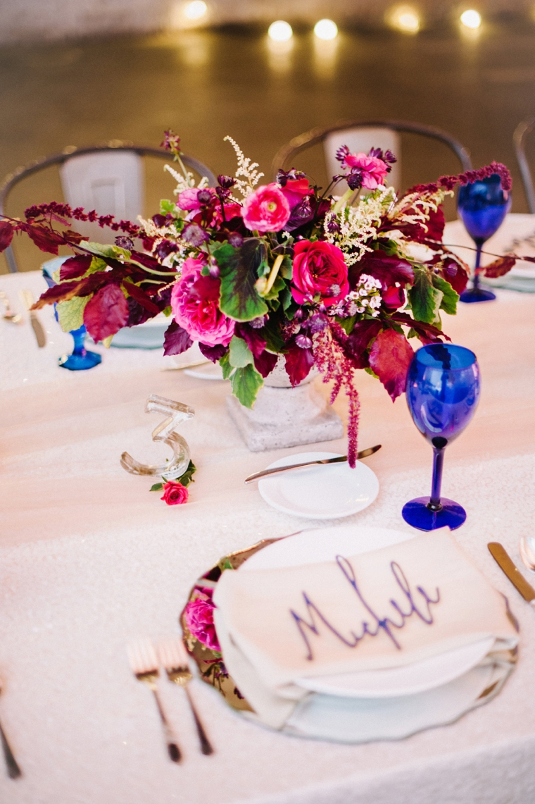 Modern & Romantic Marsala Wedding Ideas