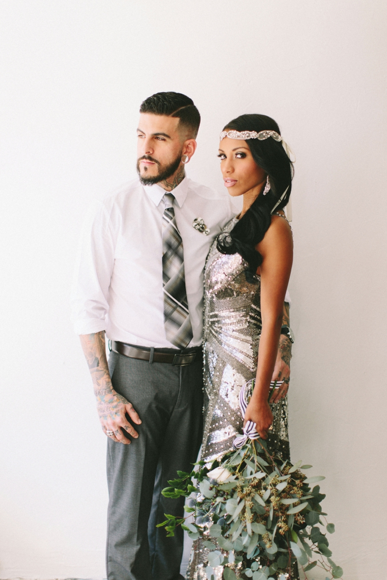 Chic modern industrial wedding inspiration for Chic modern boutique