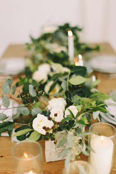Chic Modern & Industrial Wedding Inspiration via TheELD.com