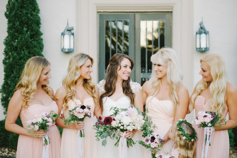 A Romantic Burgundy and Blush Wedding | Every Last Detail