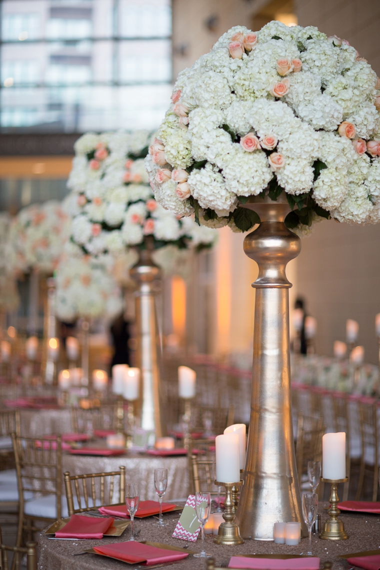 Modern Chic Champagne And Pink Wedding Every Last Detail