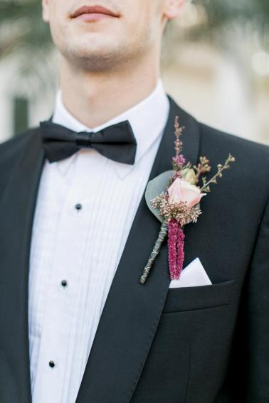 Romantic and Eclectic Red Wedding Ideas via TheELD.com
