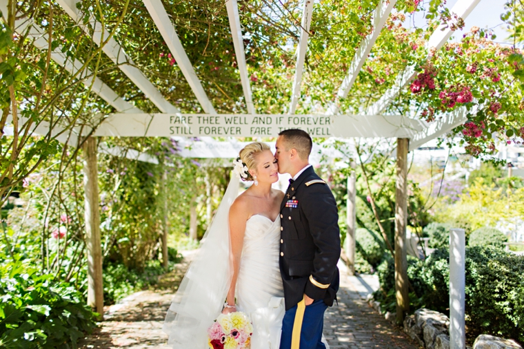 A Nautical Coral and Navy Wedding via TheELD.com