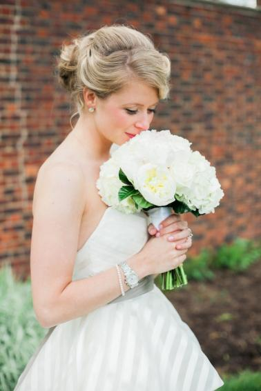 A Classic Navy and White Wedding via TheELD.com