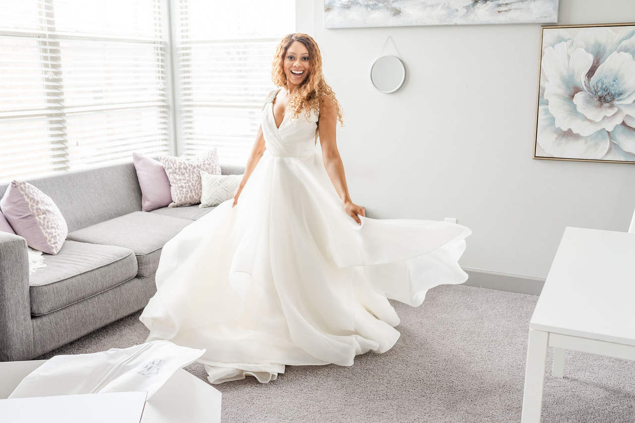 The BEST Way To Buy A Wedding Dress Online! via TheELD.com