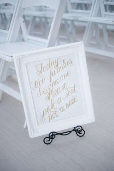 A Glamorous Black and White Wedding via TheELD.com