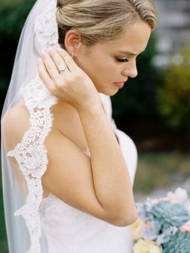 A Classic Pink & Sage Maine Wedding via TheELD.com