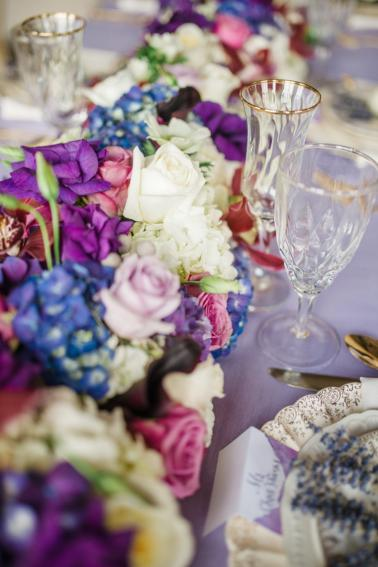 Fairy Tale Inspired Lavender Wedding Ideas via TheELD.com
