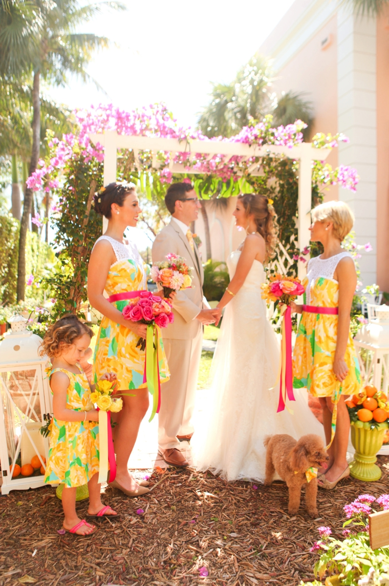 Fun Amp Colorful Lilly Pulitzer Wedding Ideas Every Last Detail