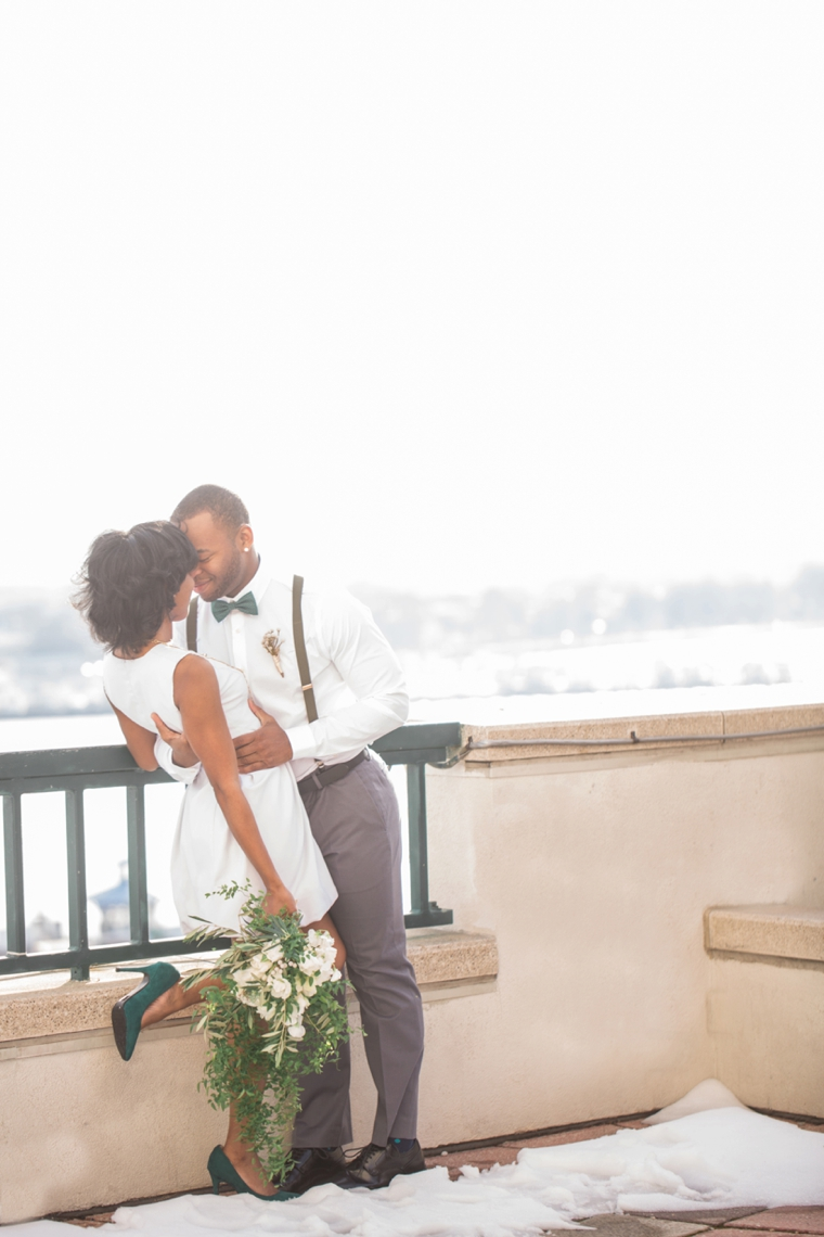 Urban Rooftop Wedding Inspiration via TheELD.com