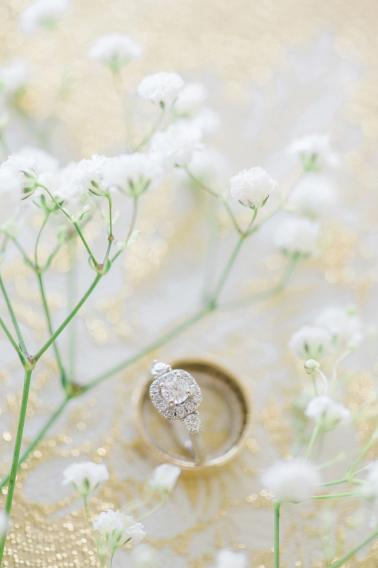 A Navy and Gold North Carolina Wedding via TheELD.com