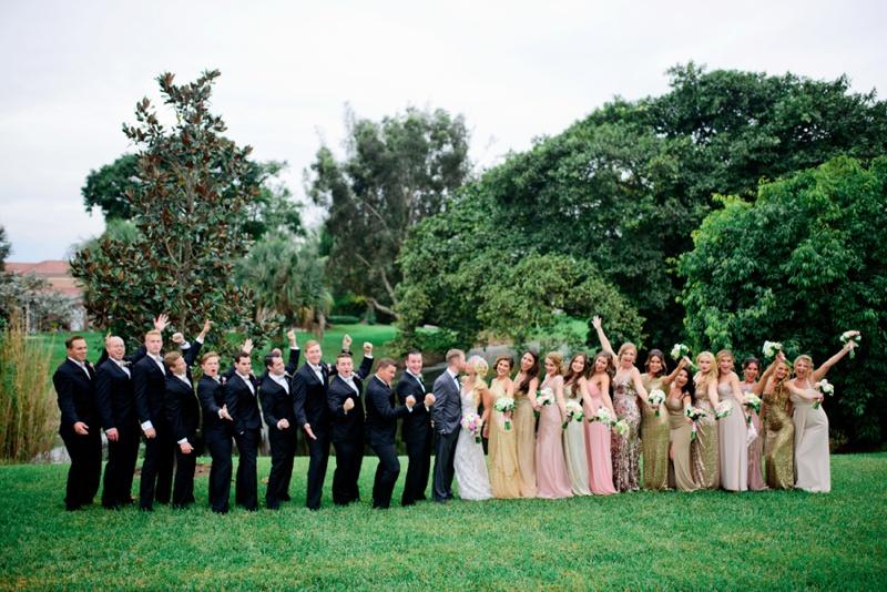 A Vintage Glam New Years Eve Wedding via TheELD.com