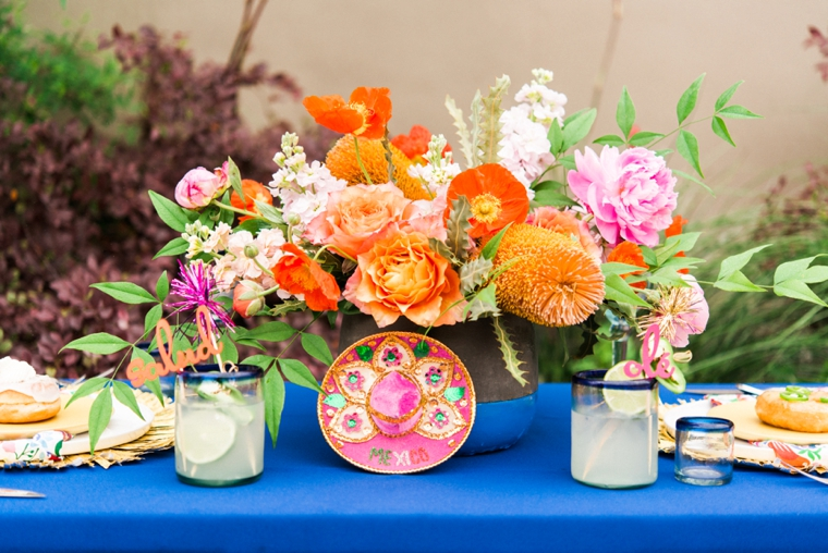 Eclectic Cinco de Mayo Wedding Inspiration via TheELD.com