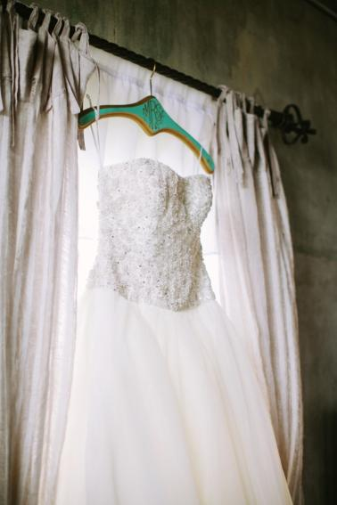 Rustic Elegant Peach and White Wedding via TheELD.com