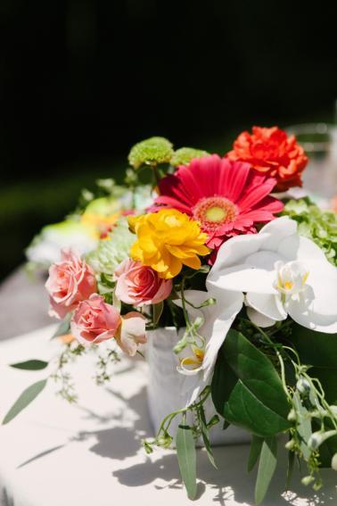 Eclectic & Chic Neon Wedding Ideas via TheELD.com