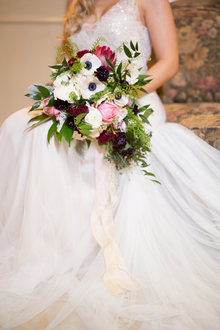 Romantic Blush, Marsala and Gold Wedding Ideas | Every Last Detail