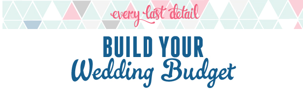Free Wedding Budget Worksheet Download via TheELD.com