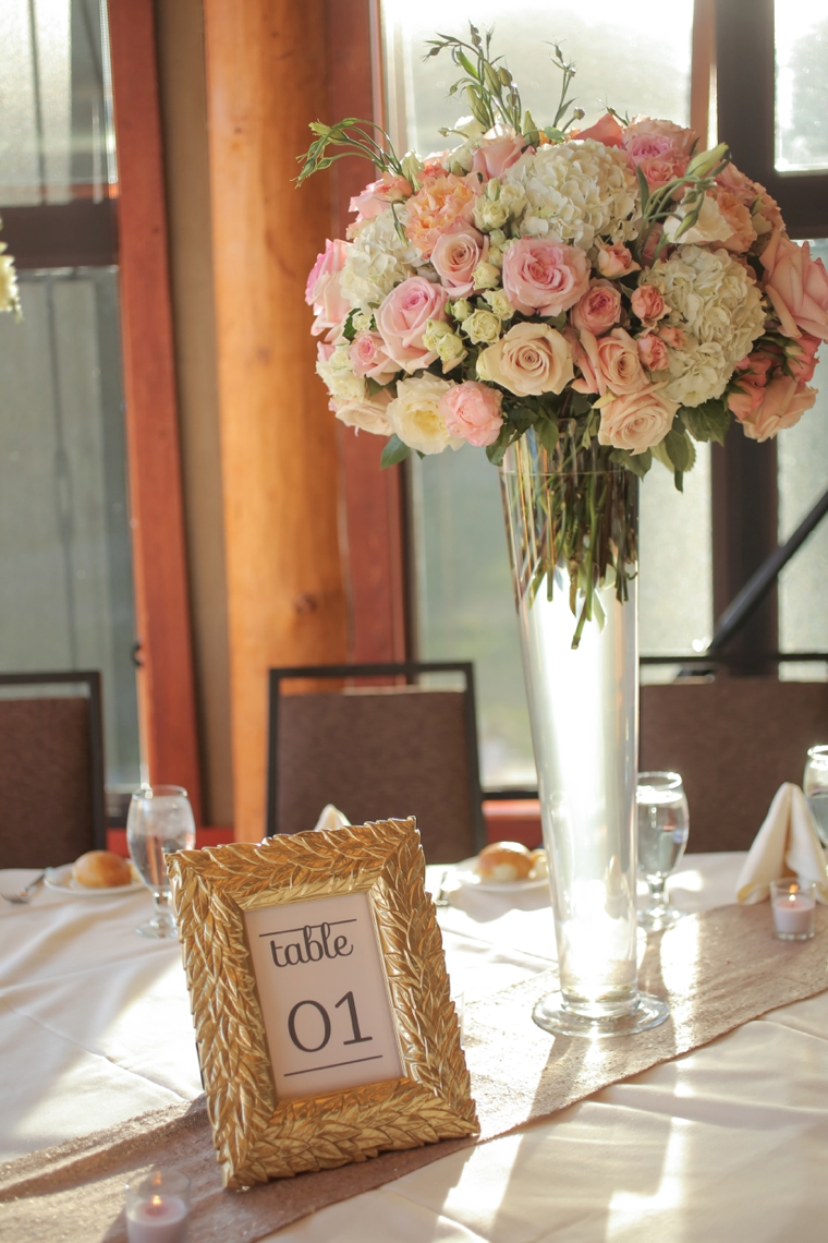 Rustic Elegant Pink And Gold Wedding Every Last Detail