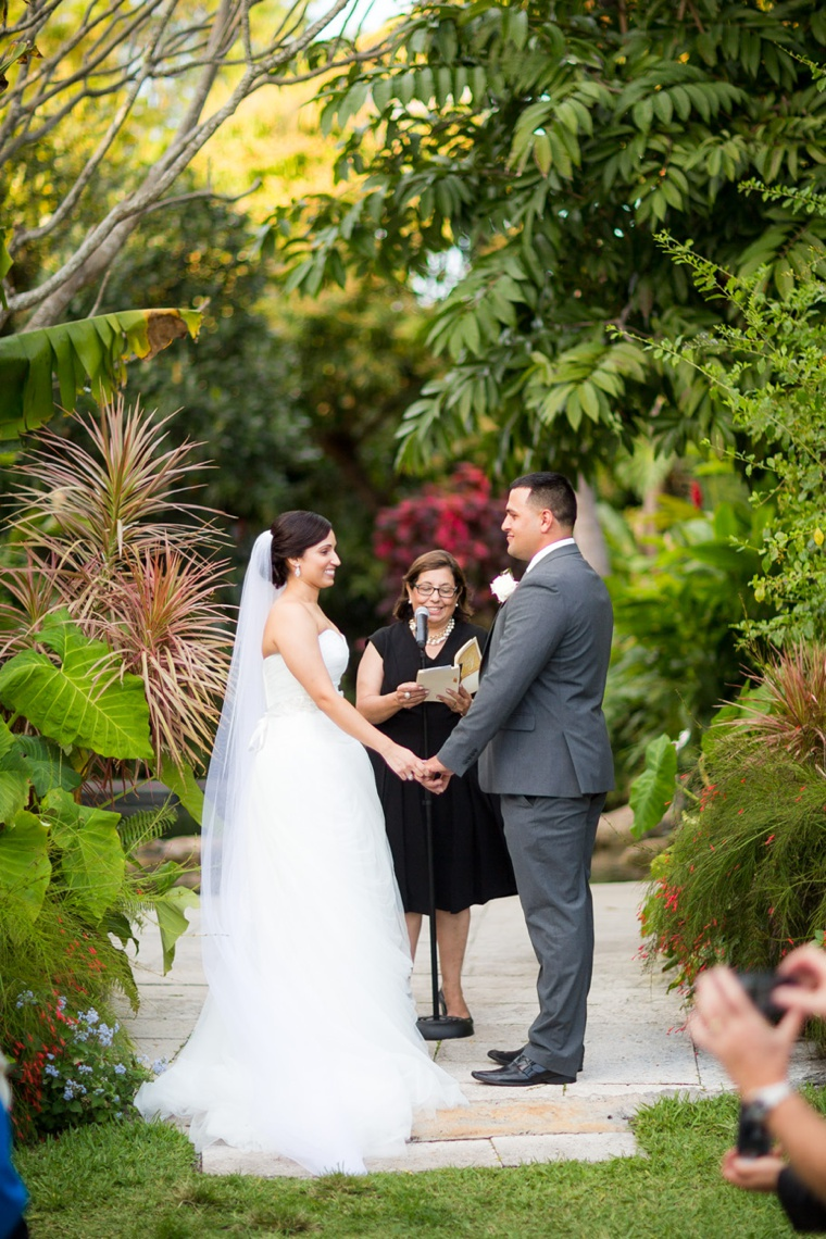 Elegant Garden Lavender and White Wedding via TheELD.com