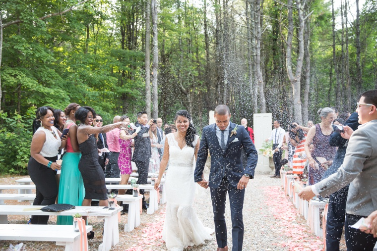 Rustic & Modern Maine Wedding via TheELD.com