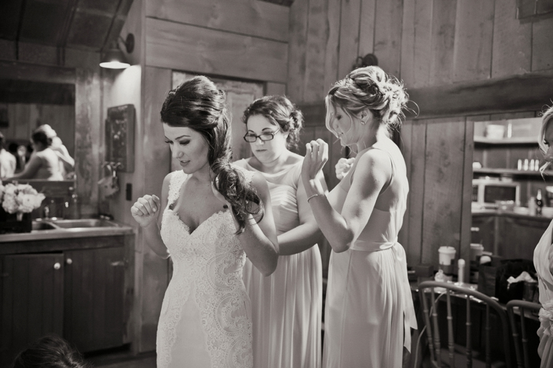 Vintage Eclectic Mint & Green Barn Wedding via TheELD.com