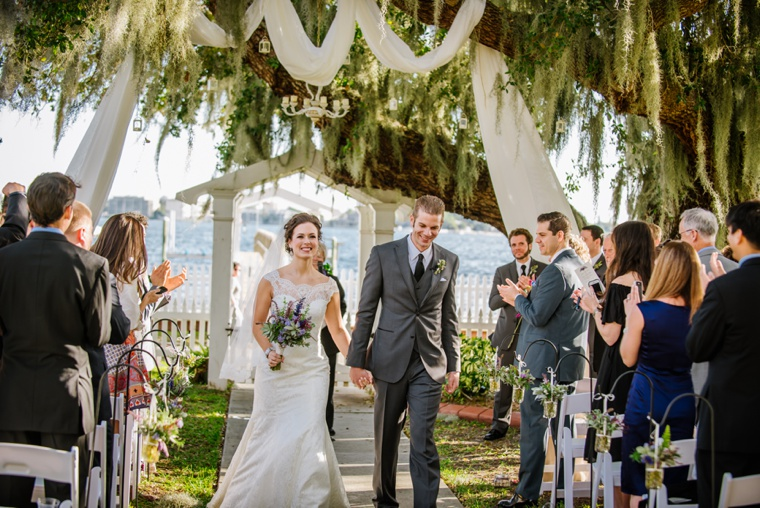 A Rustic Purple Florida Wedding via TheELD.com