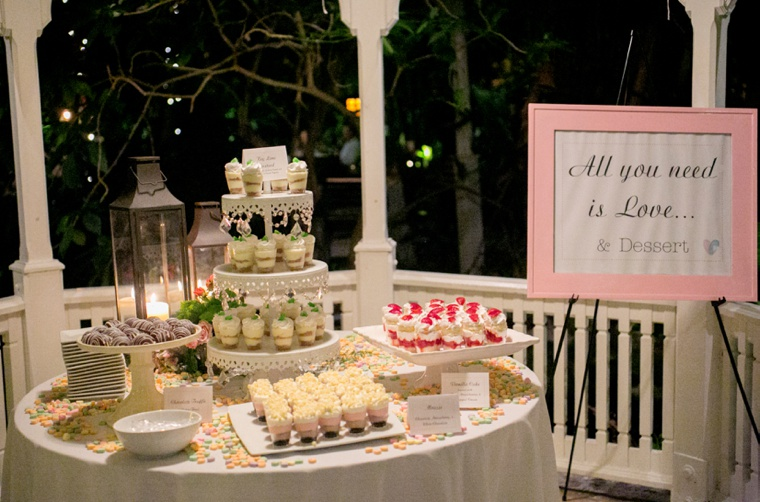 A Pink & Yellow Whimsical Wedding via TheELD.com