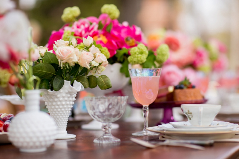 ad8bfd4d6117 ... Hot Pink Garden Bridal Shower Ideas via TheELD.com ...