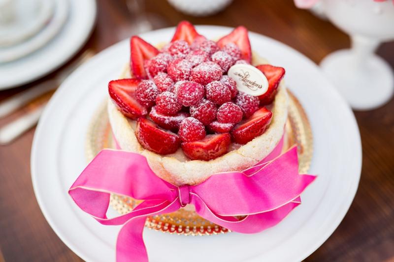 Hot Pink Garden Bridal Shower Ideas via TheELD.com