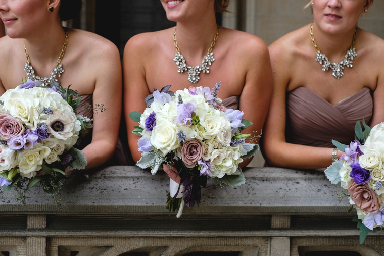 A Purple Rustic Elegant Asheville Wedding via TheELD.com