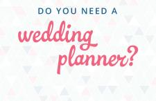 need a wedding planner