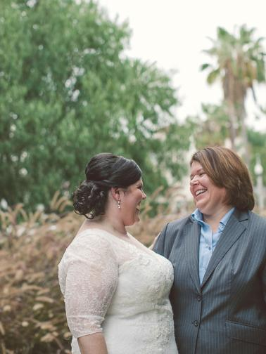 An Eclectic, Intimate SmogShoppe Wedding via TheELD.com