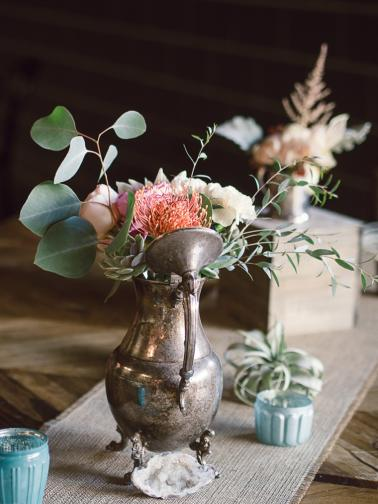 An Eclectic, Intimate SmogShoppe Wedding via TheELD.com