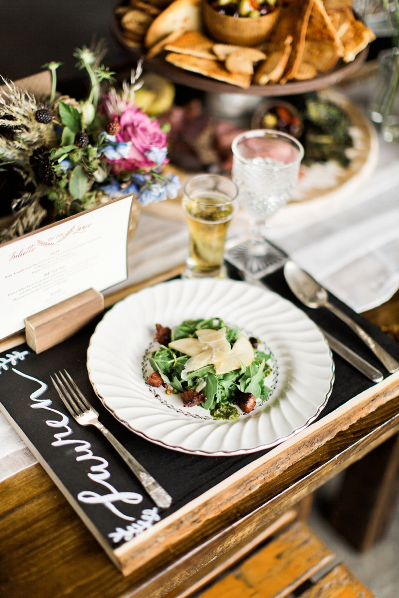 Fun & Eclectic Foodie Wedding Ideas via TheELD.com