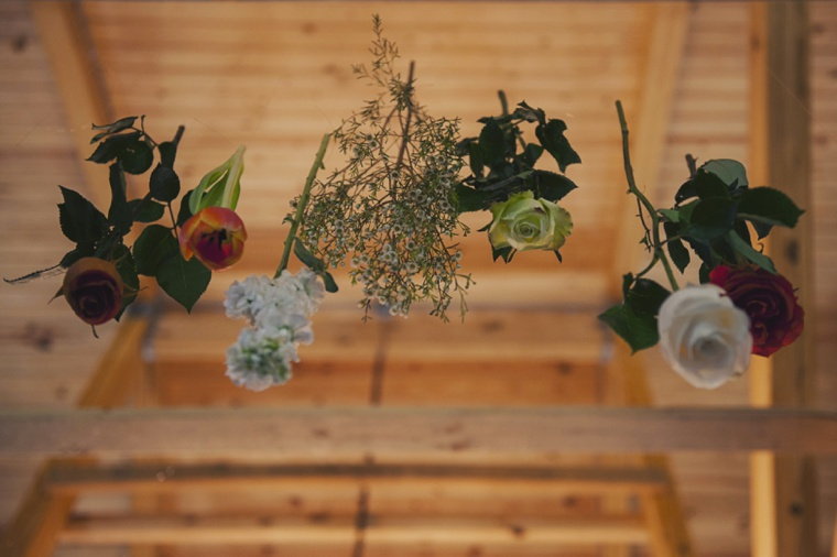 Orange & White Rustic Elegant Wedding via TheELD.com