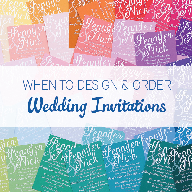 When To Send Out Wedding Invitations For Destination Wedding: When To Design & Order Wedding Invitations
