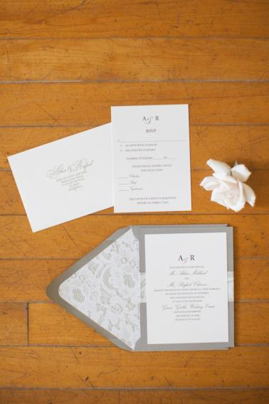 An Elegant & Blush Timeless Wedding via TheELD.com