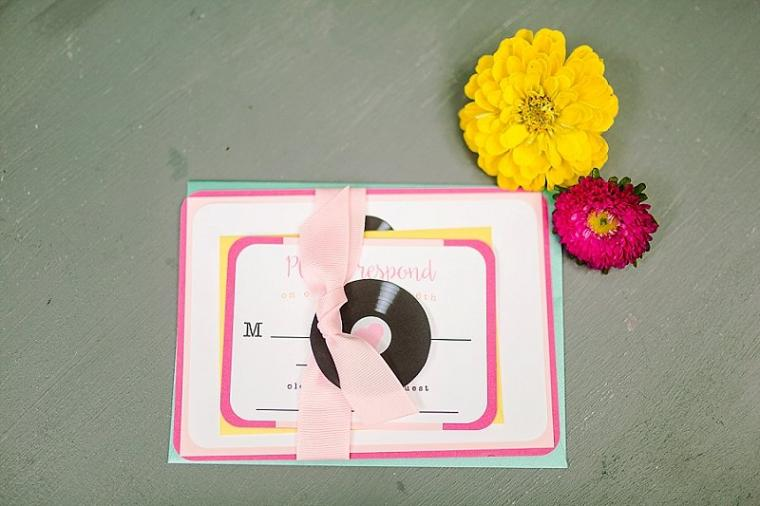 Colorful Retro Wedding Ideas via TheELD.com