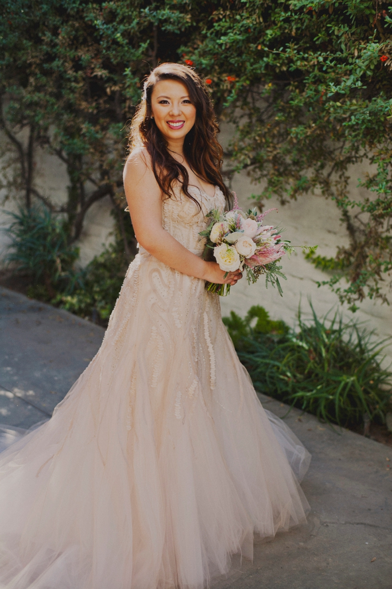 Eclectic Blush Palm Springs Wedding | Every Last Detail