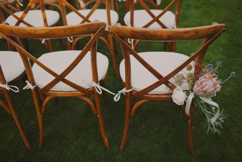 Eclectic Blush Palm Springs Wedding via TheELD.com