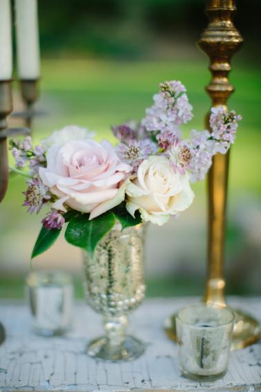Romantic Woodland Wedding Ideas via TheELD.com