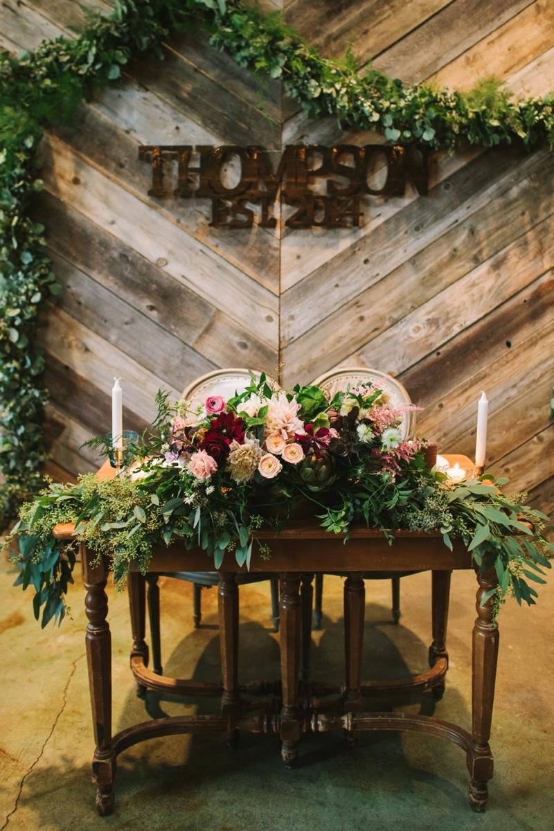 A Rustic Urban San Diego Wedding via TheELD.com