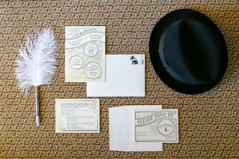 A Vintage 1920s Inspired Wedding via TheELD.com