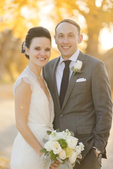 An Elegant & Rustic Nevada Wedding via TheELD.com